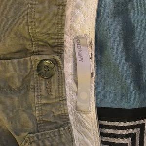 Old Navy size 4 khaki shorts